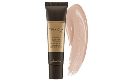 Guerlain Terracotta Skin Cream Powder Foundation Nude