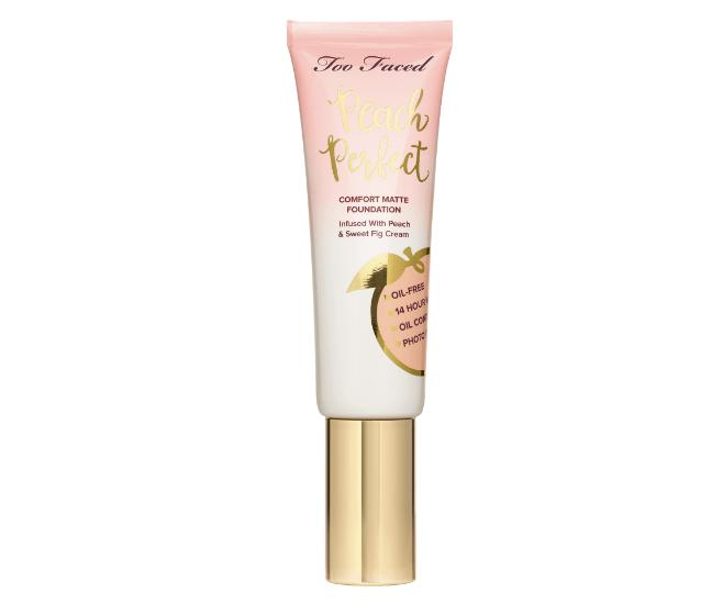 Too Faced Peach Perfect Comfort Matte Foundation Sand