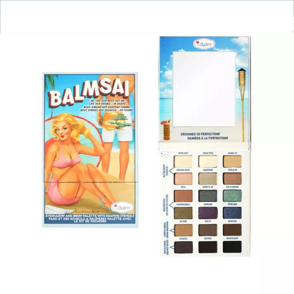 The Balm Balmsai Eyeshadow & Brow Palette (Without Stencils)