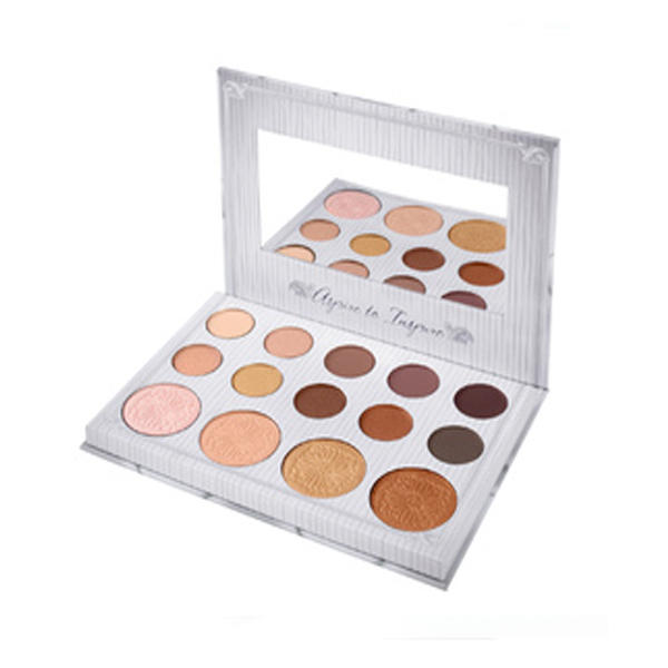 BH Cosmetics Carli Bybel 14 Color Eyeshadow & Highlighter Palette (Without Highlight 1)