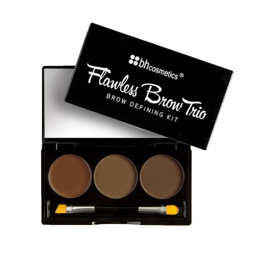 BH Cosmetics Flawless Brow Trio Brow Defining Kit Light