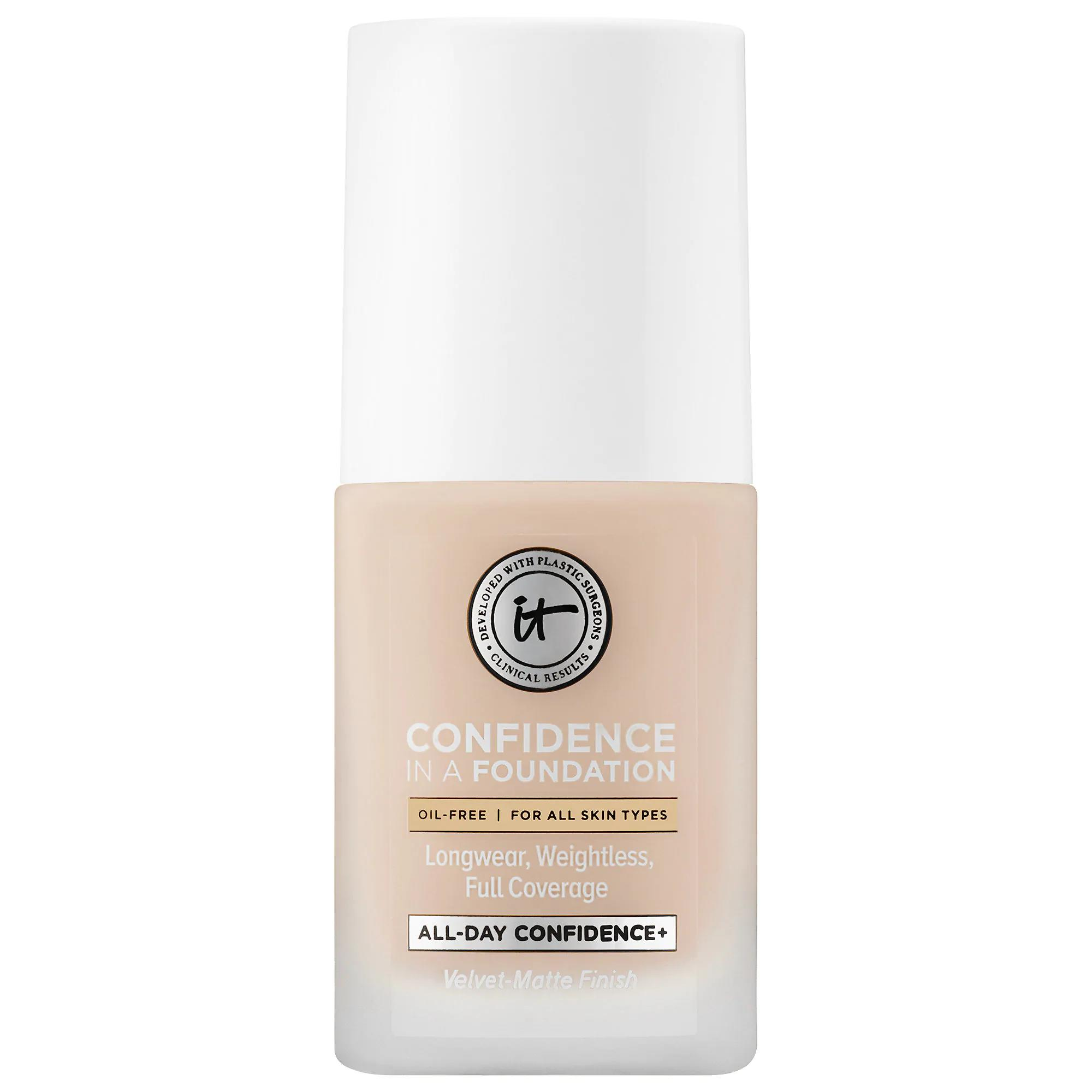 IT Cosmetics Confidence in a Foundation Light Ivory 100