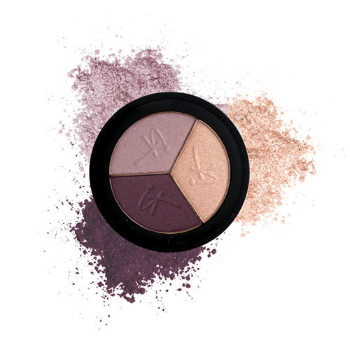 IT Cosmetics Luxe High Performance Hydrating Eyeshadow Trio Naturally Pretty In Plum