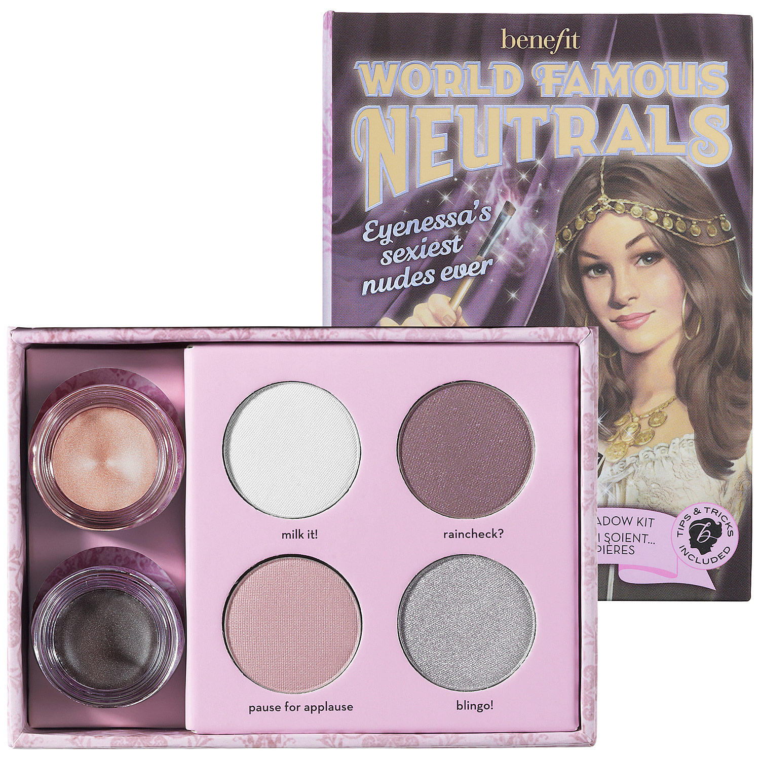 Benefit World Famous Neutrals Eyenessa's Sexiest Nudes Ever