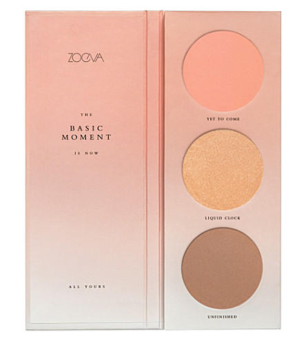 Zoeva The Basic Moment Blush Palette