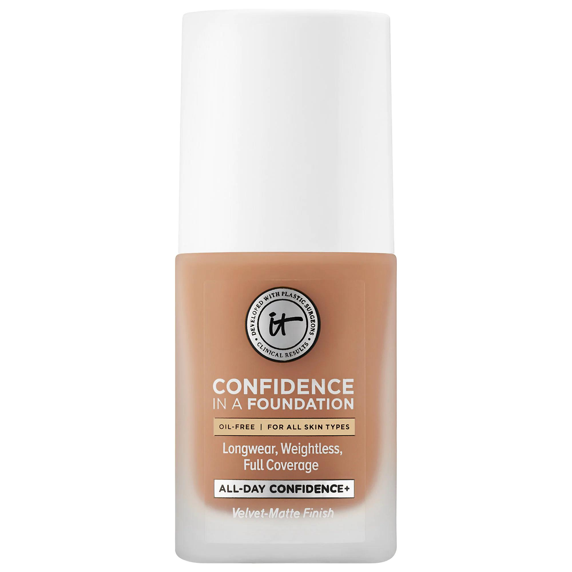IT Cosmetics Confidence in a Foundation Tan Natural 330