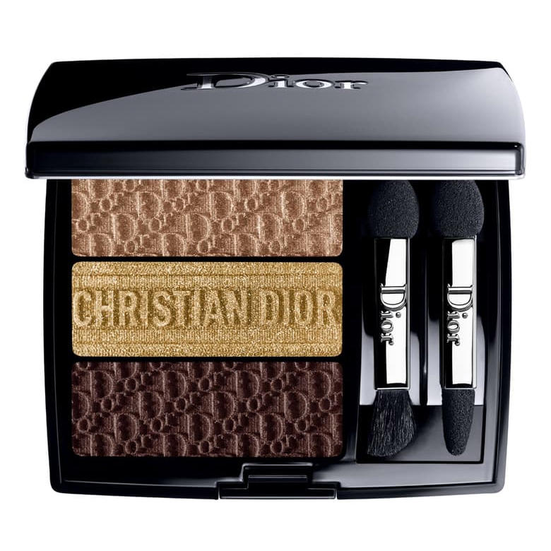 Dior 3 Couleurs Tri(O)blique Eyeshadow Palette Earthy Canvas 553