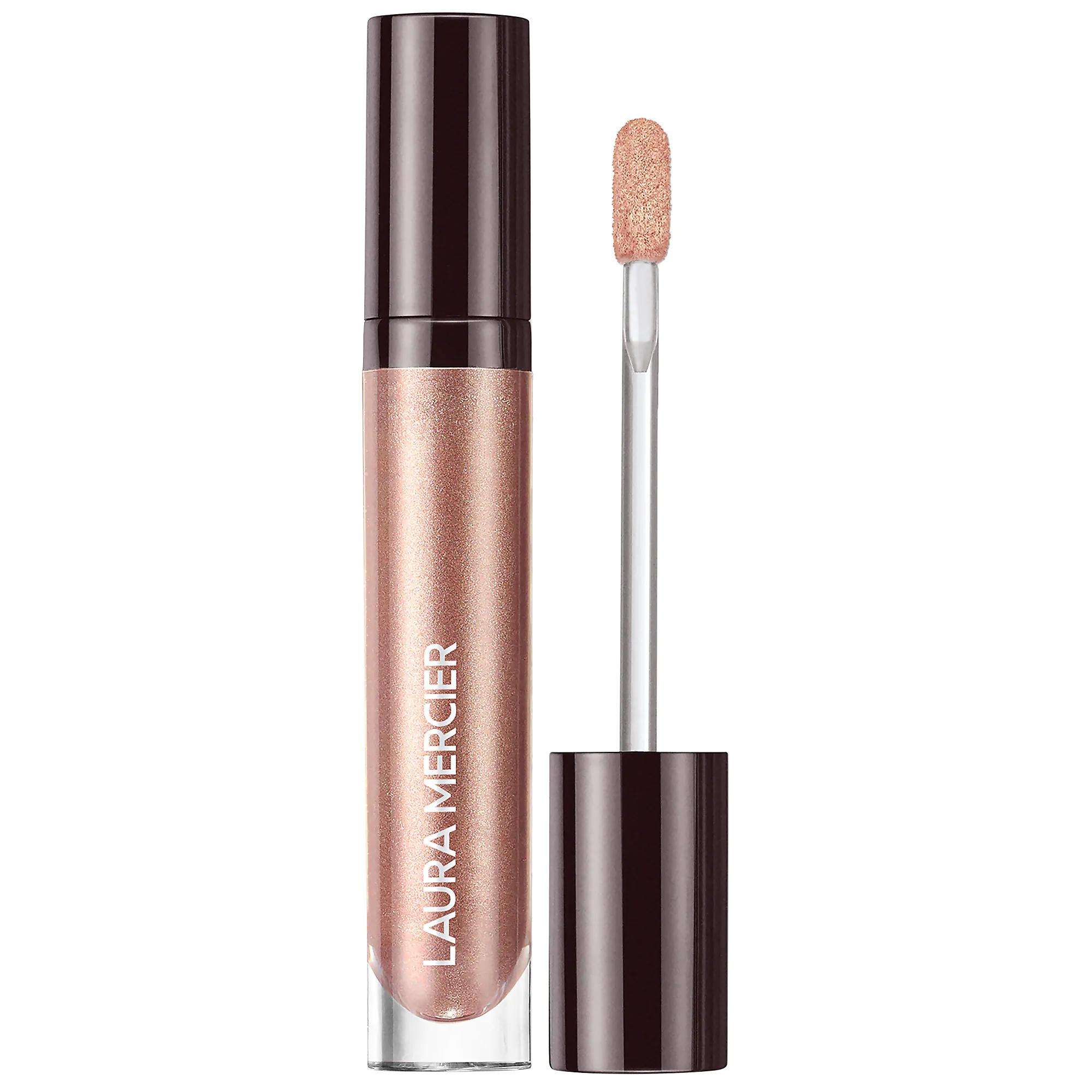 Laura Mercier Caviar Chrome Veil Liquid Eyeshadow Gilded Fresco