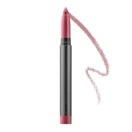 Bite Beauty Crystal Creme Shimmer Lip Crayon Mauve Marzipan