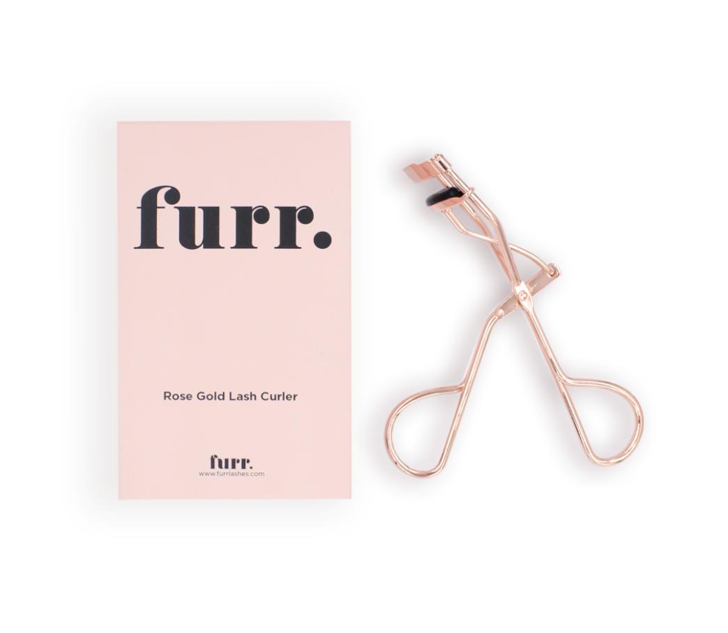 Furr. Rose Gold Lash Curler