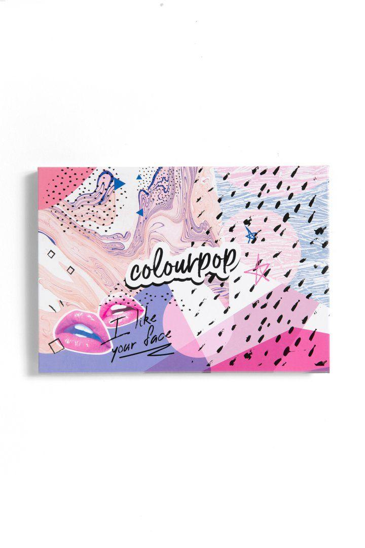 ColourPop I Like Your Face Large Empty Palette
