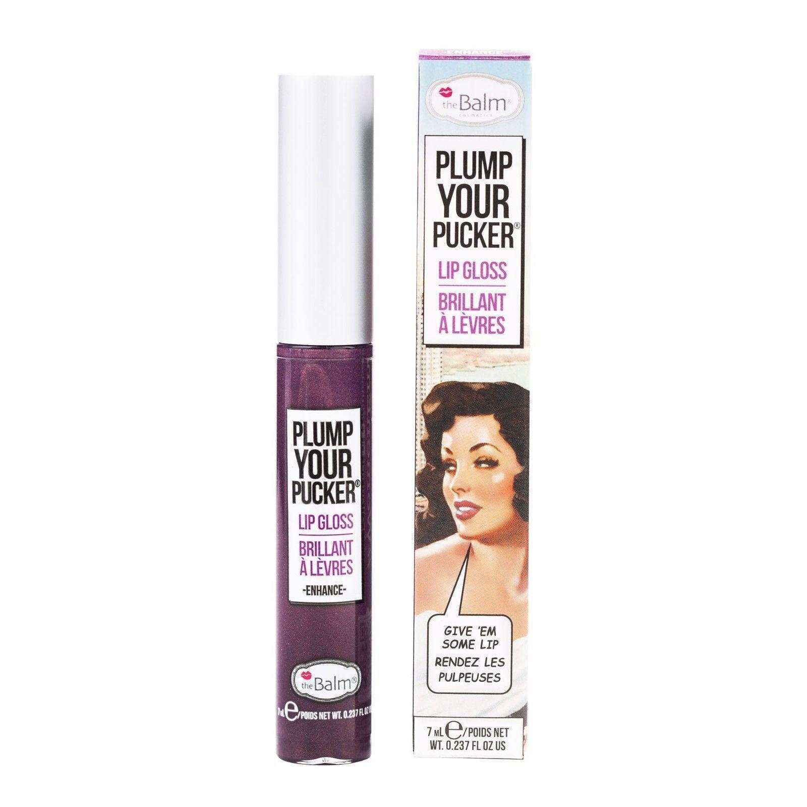 The Balm Plump Your Pucker Lip Gloss Enhance Mini