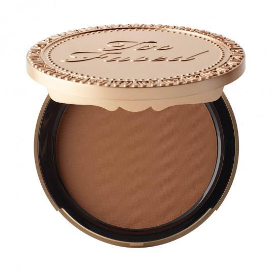 Too Faced Dark Chocolate Soleil Matte Bronzer Deep/Tan