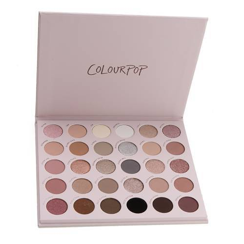Colourpop Stone Cold Fox Eyeshadow Palette