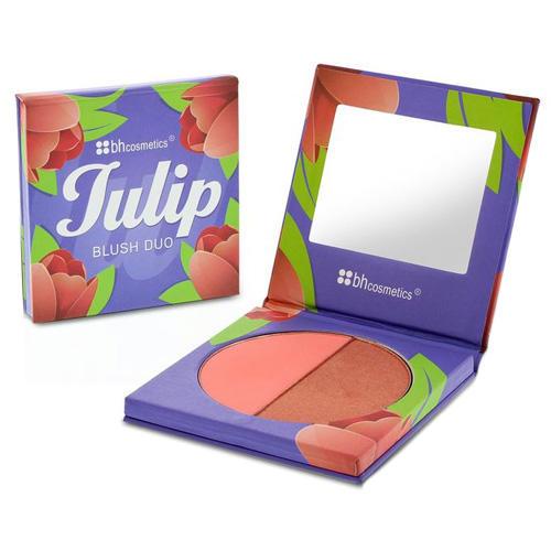 BH Cosmetics Floral Blush Duo Tulip