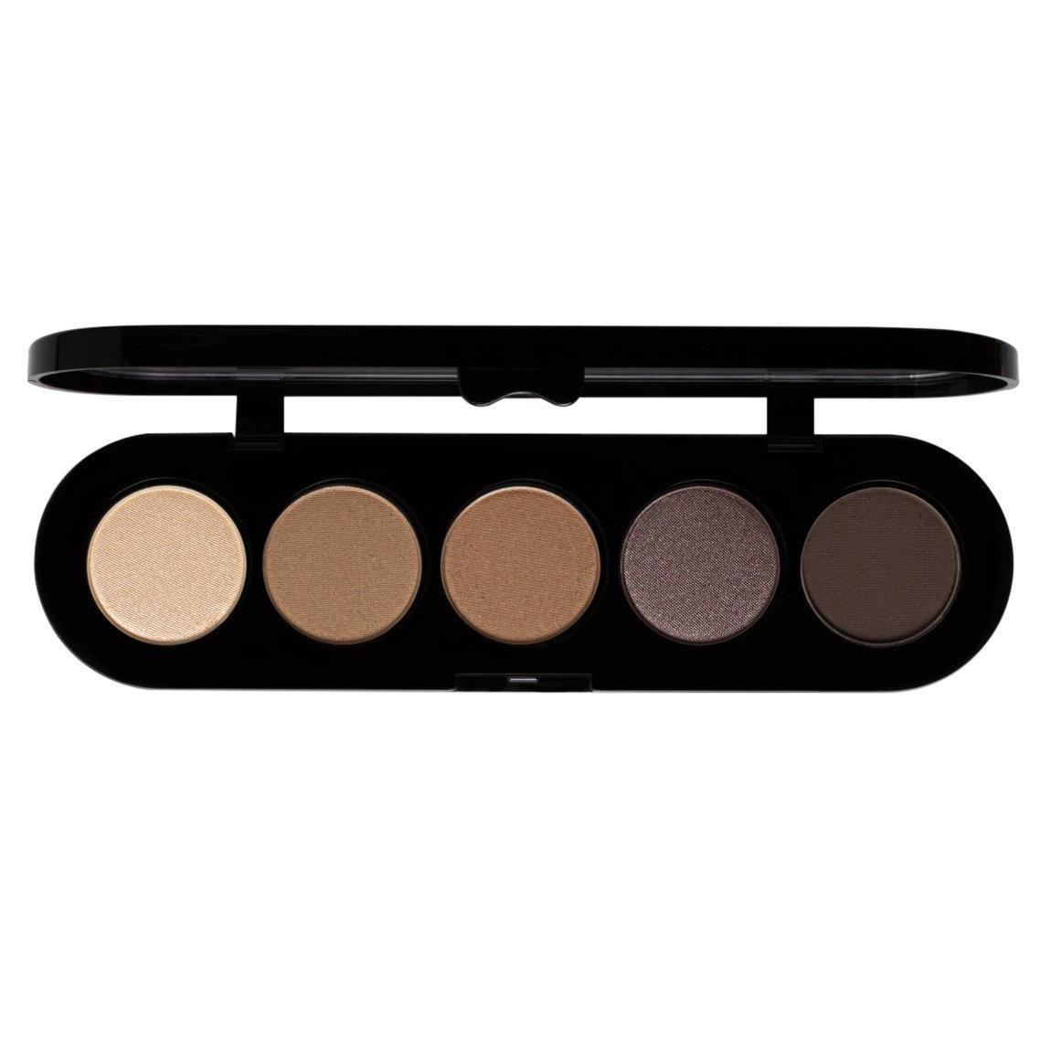 Makeup Atelier Paris 5 Eyeshadows Palette Smokey Brown T26
