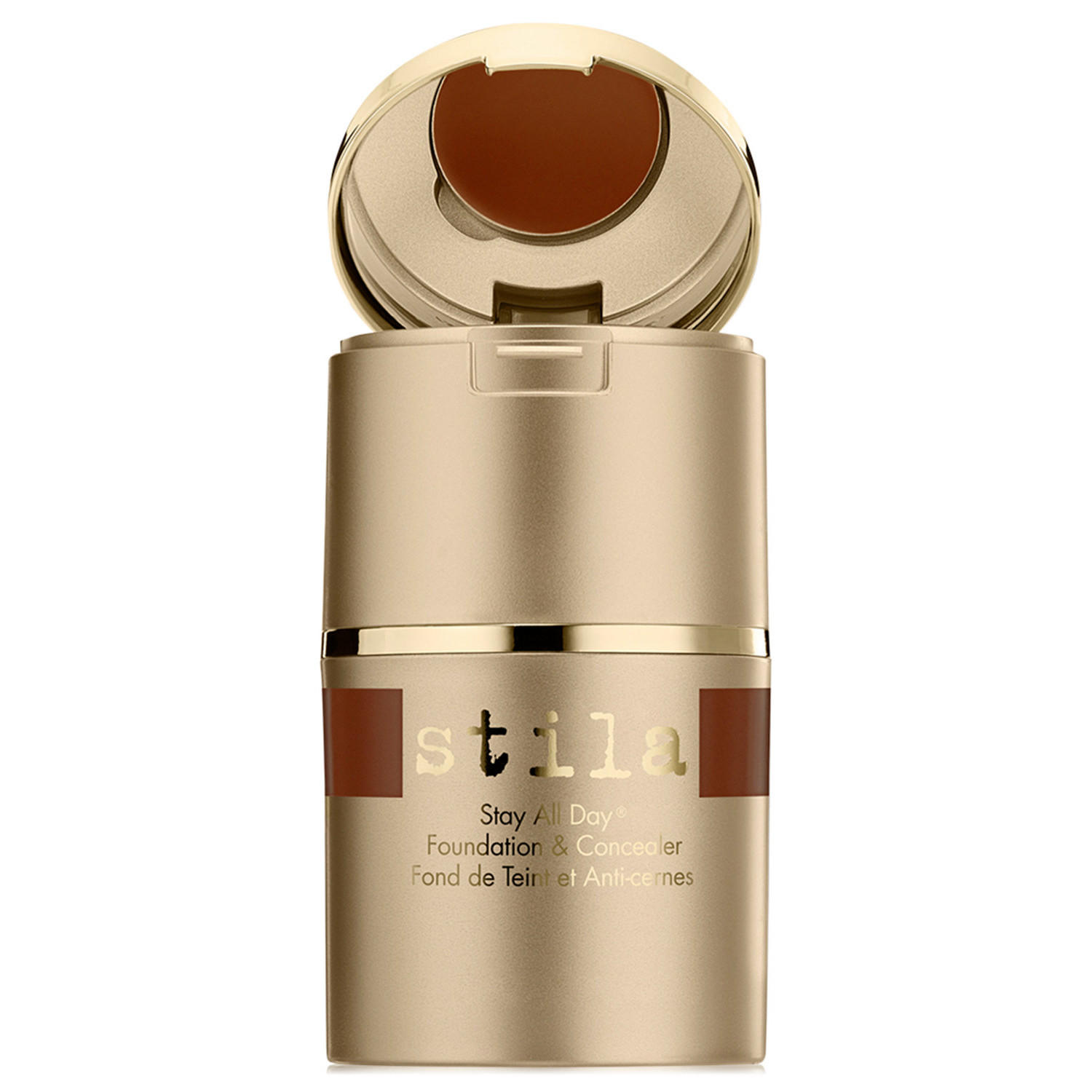 Stila Stay All Day Liquid Foundation & Concealer Espresso 15