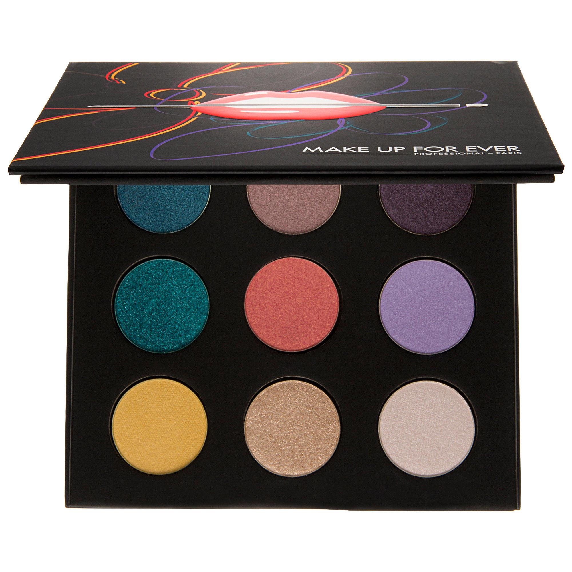 Makeup Forever 9 Artist Shadow Palette Florals Volume 3