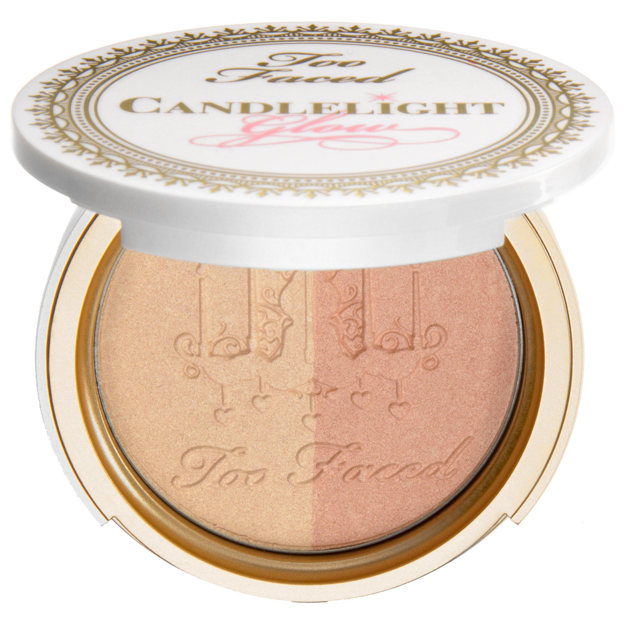 Too Faced Candlelight Glow Highlighting Powder Duo Warm Glow