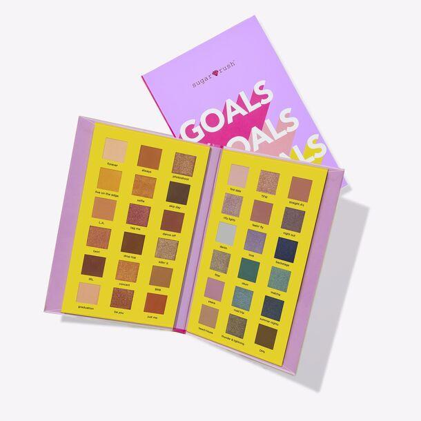 Tarte Sugar Eyeshadow Palette Goals Goals Goals