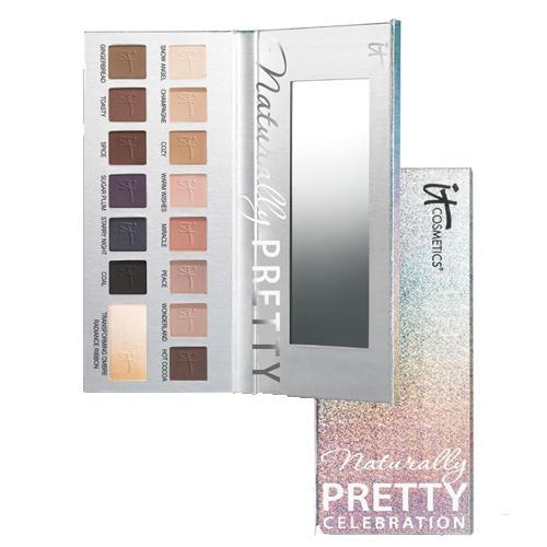 IT Cosmetics Naturally Pretty Celebration Matte Luxe Palette