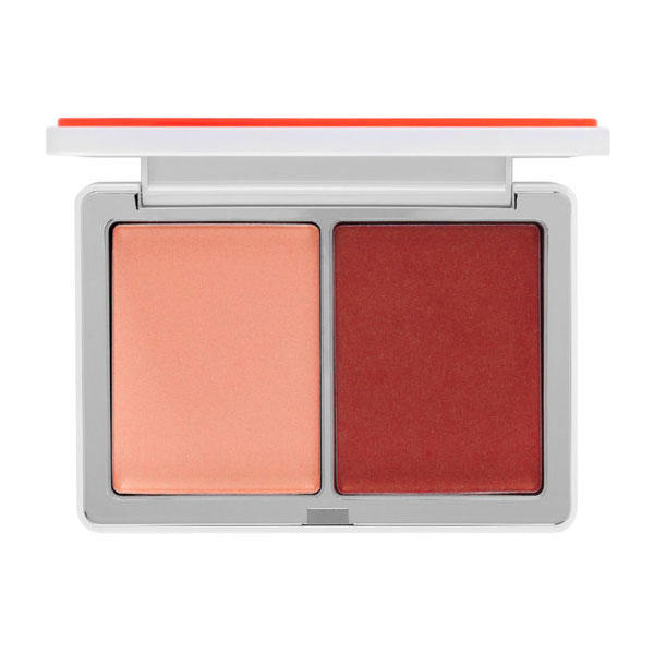 Natasha Denona Blush Duo Palette #12 Toutou 02, Warm Golden Berry 07