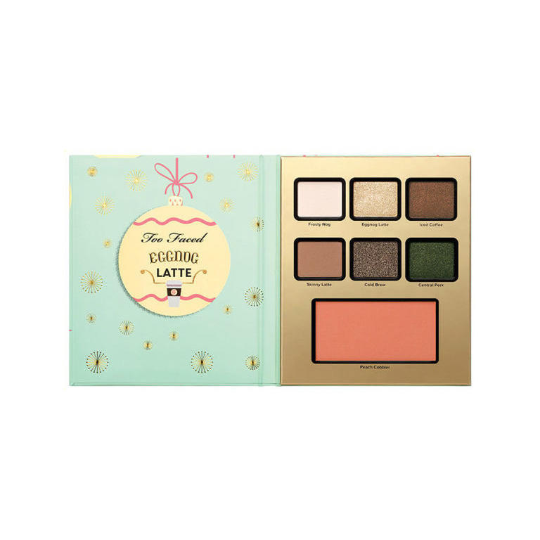 Too Faced Grande Hotel Cafe Palette Eggnog Latte