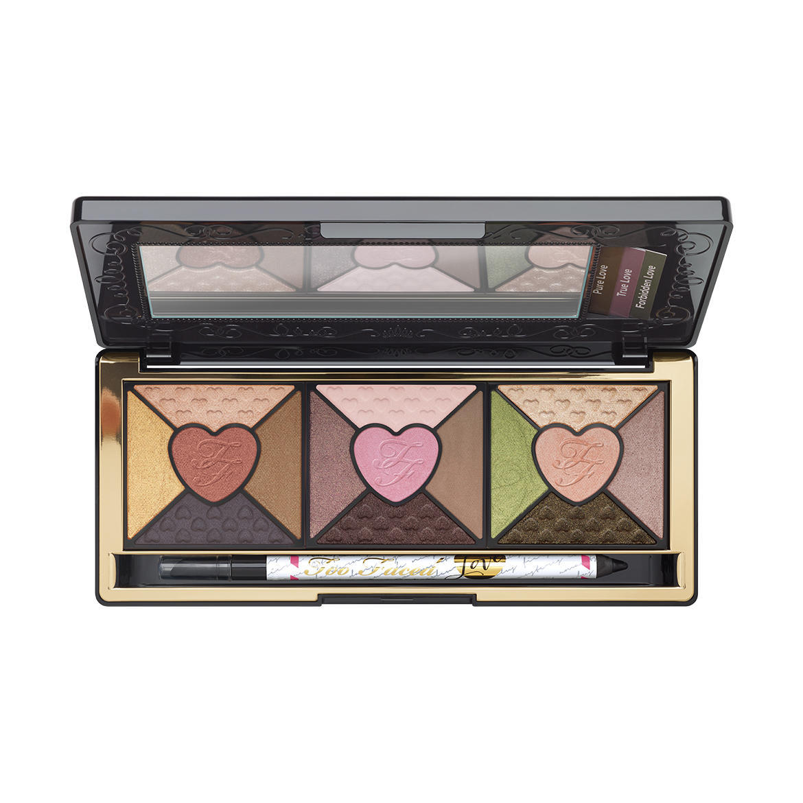 Too Faced Love Passionately Pretty Eyeshadow Palette (Missing Eyeliner)