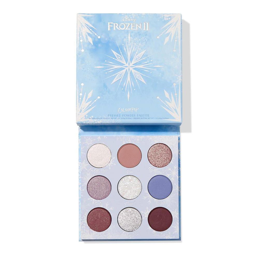 ColourPop Frozen II Elsa Eyeshadow Palette