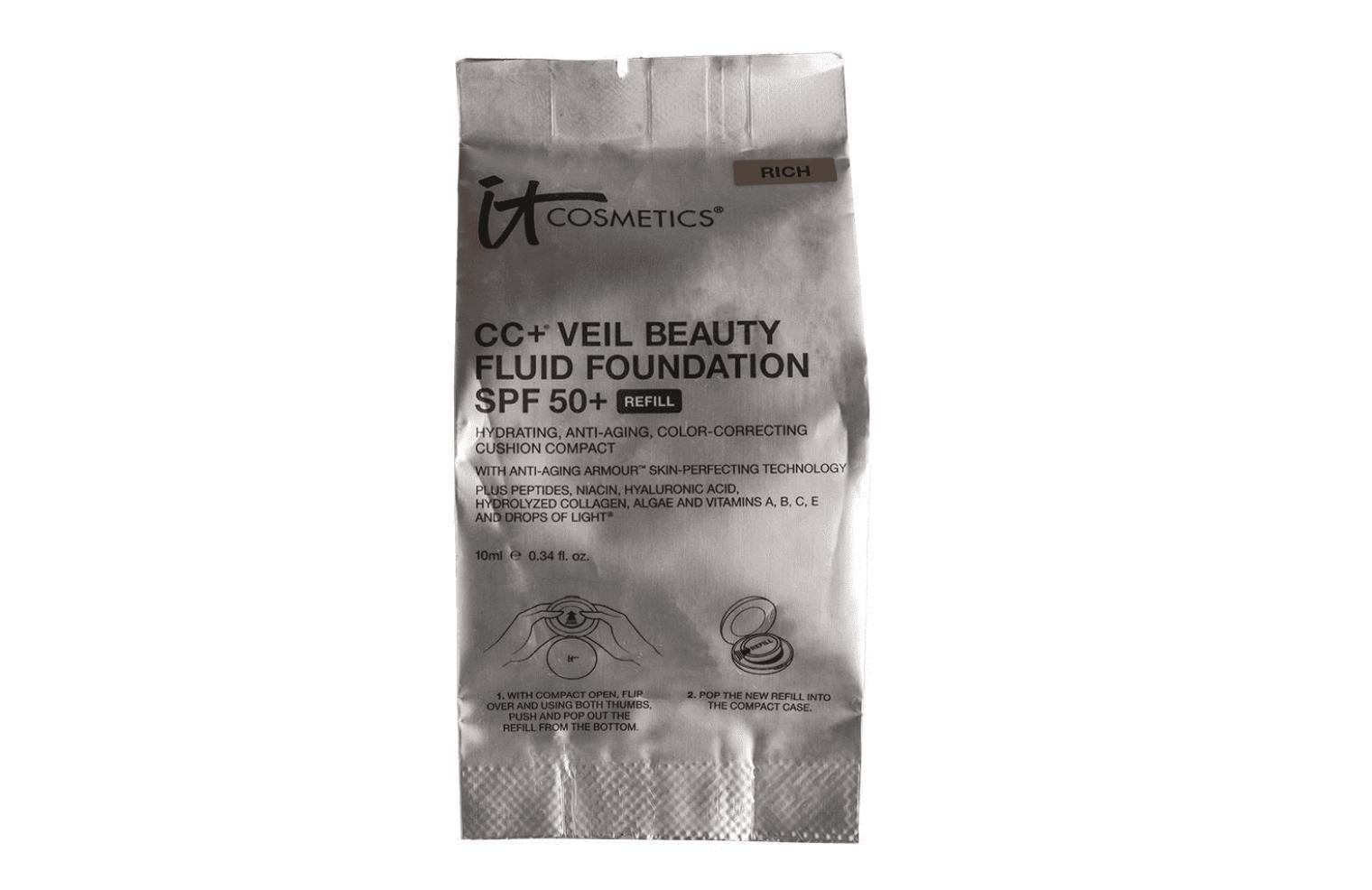 IT Cosmetics CC+ Veil Beauty Fluid Foundation SPF50+ Refill Rich