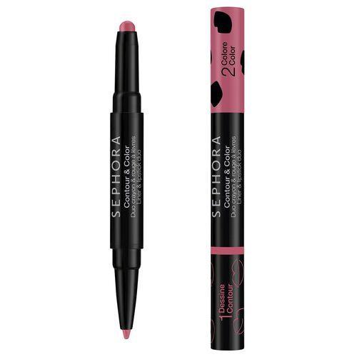 Sephora Contour & Color Duo Crayon Rosewood 08