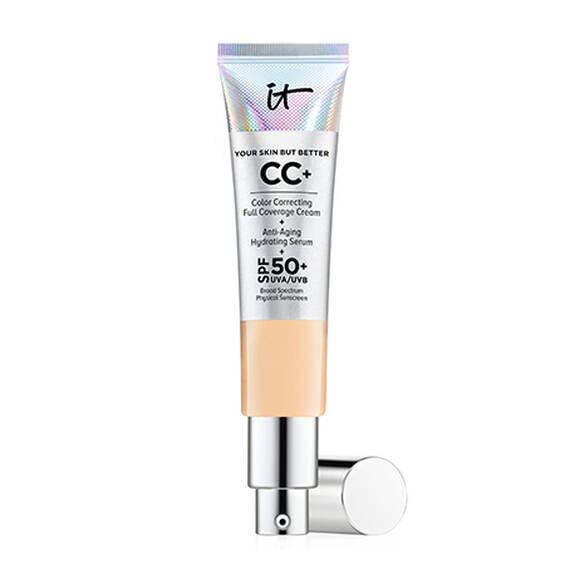 IT Cosmetics CC+ Color Correcting Full Coverage Cream Light Medium 32ml
