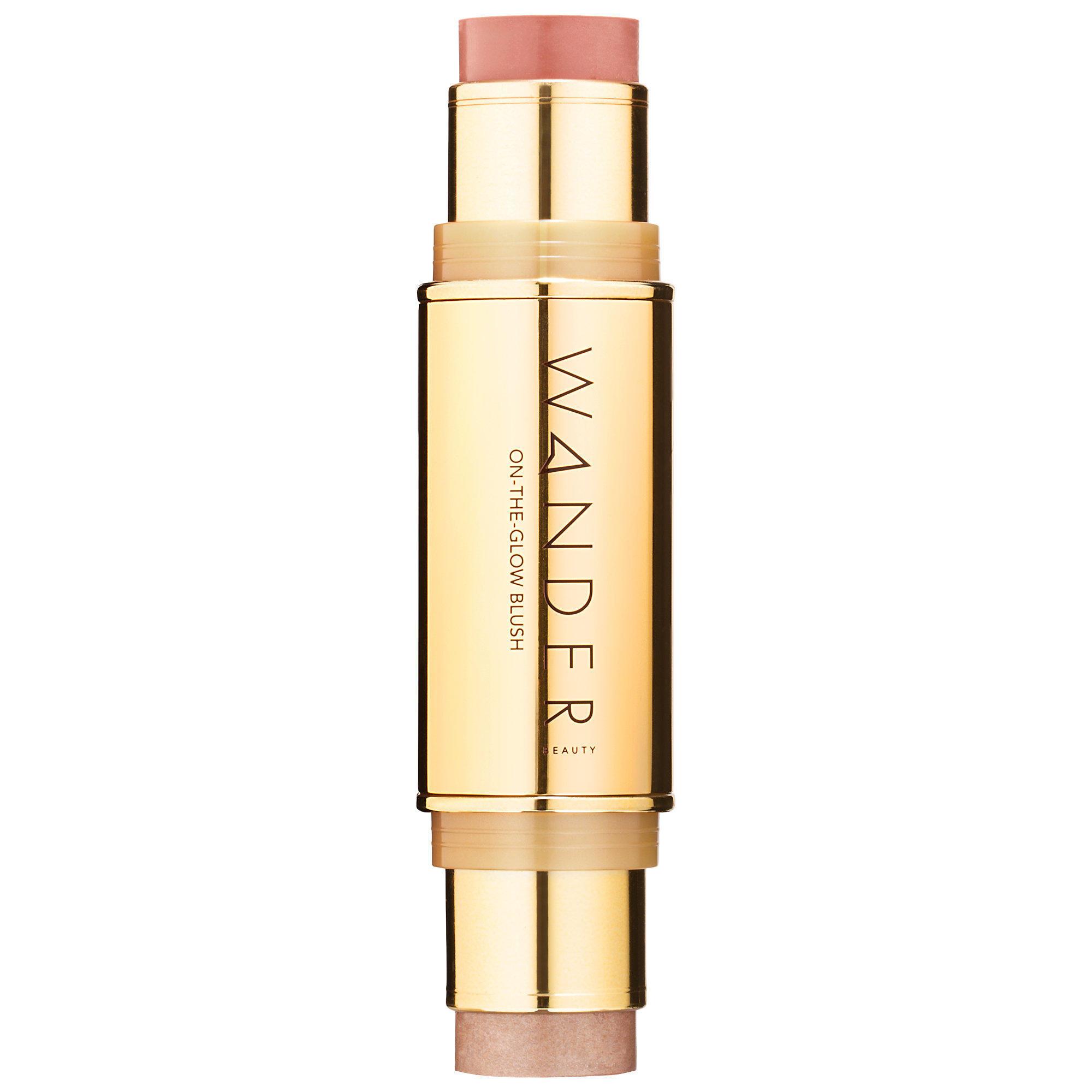 Wander Beauty On-The-Glow Blush and Illuminator Soft Pink / Nude Glow