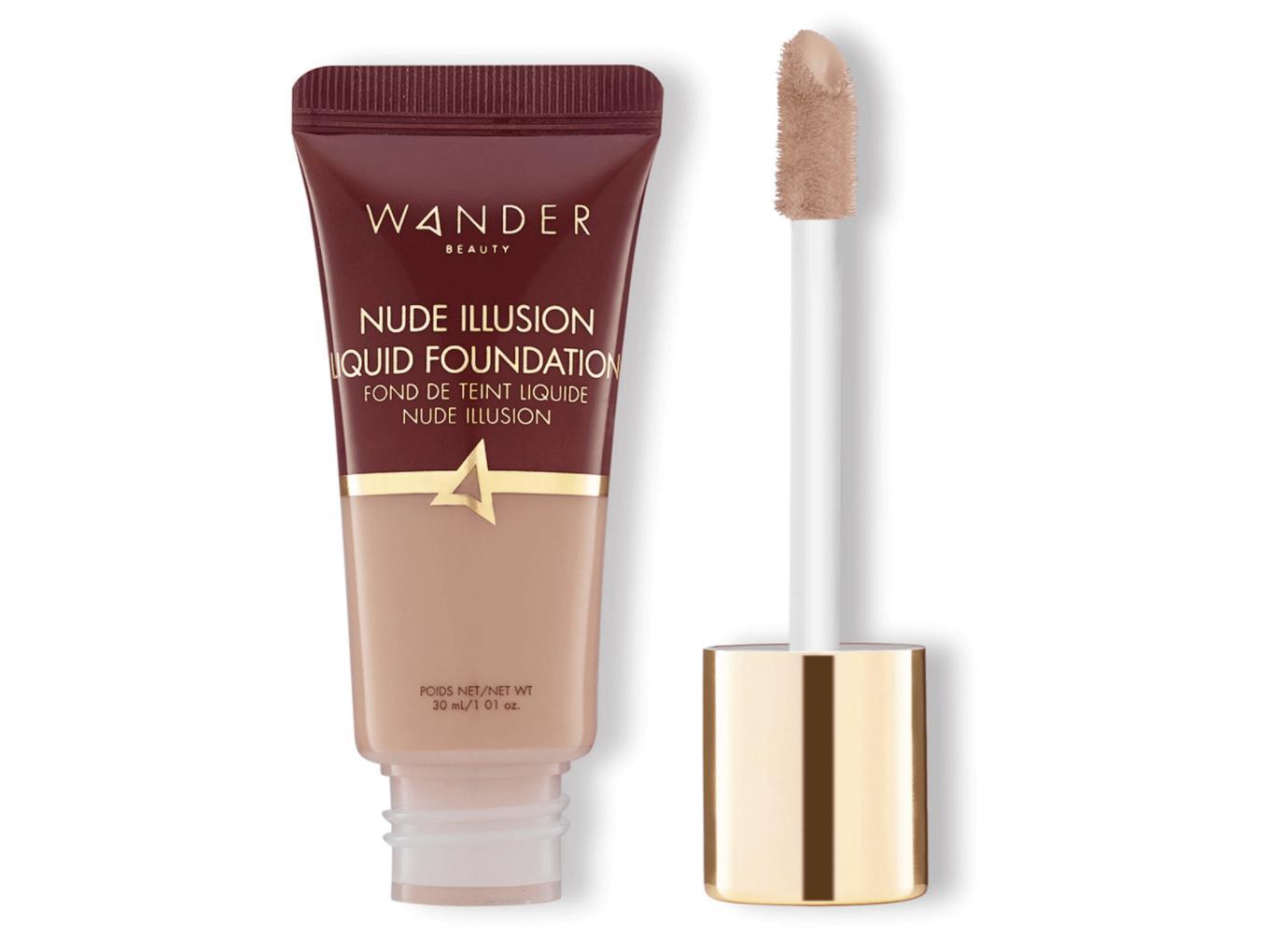 Wander Beauty Nude Illusion Liquid Foundation Light Medium Mini