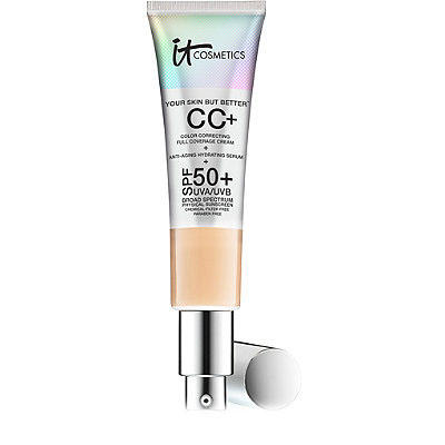 IT Cosmetics CC+ Color Correcting Full Coverage Cream SPF50 Light 32ml