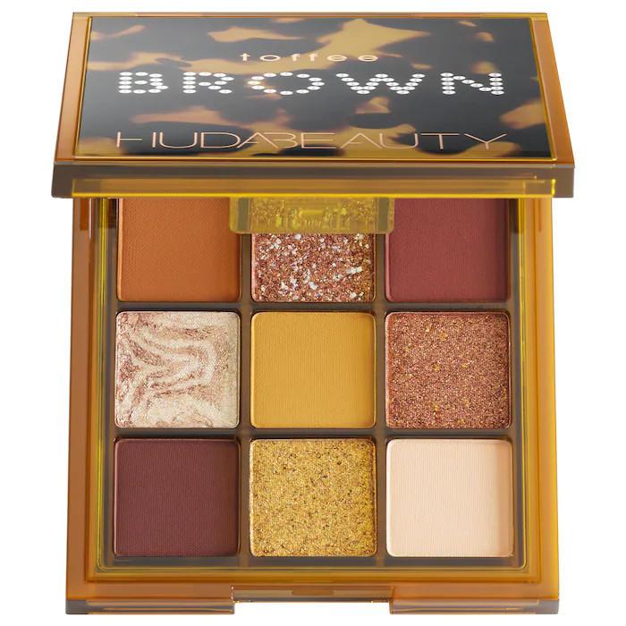 Huda Beauty Brown Obsessions Eyeshadow Palette Toffee