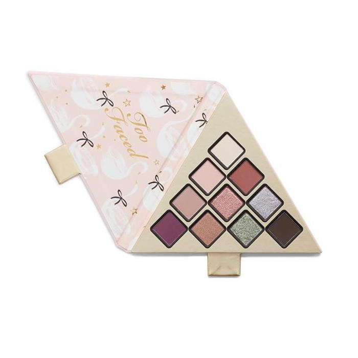 Too Faced Under The Christmas Tree 10 Color Eyeshadow Palette
