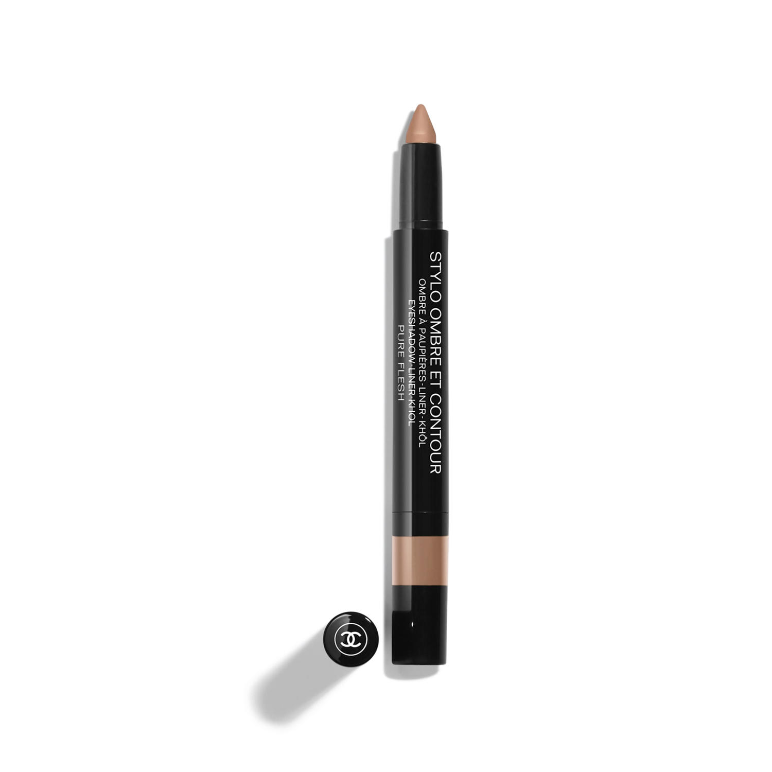 Chanel Stylo Ombre Et Contour Eyeshadow Liner Kohl Pure Flesh 222