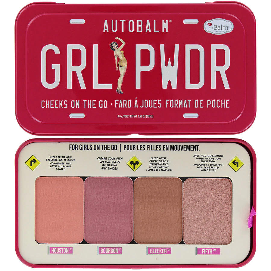 The Balm Autobalm GRL PWDR Cheeks On The Go
