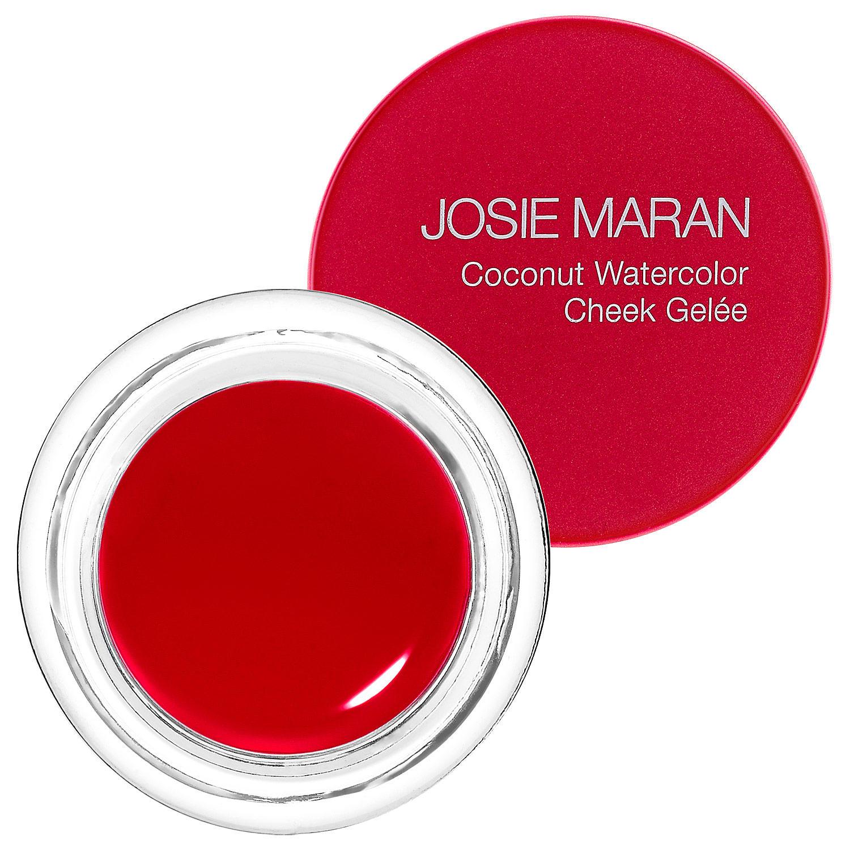 Josie Maran Coconut Watercolor Cheek Gelee Getaway Red