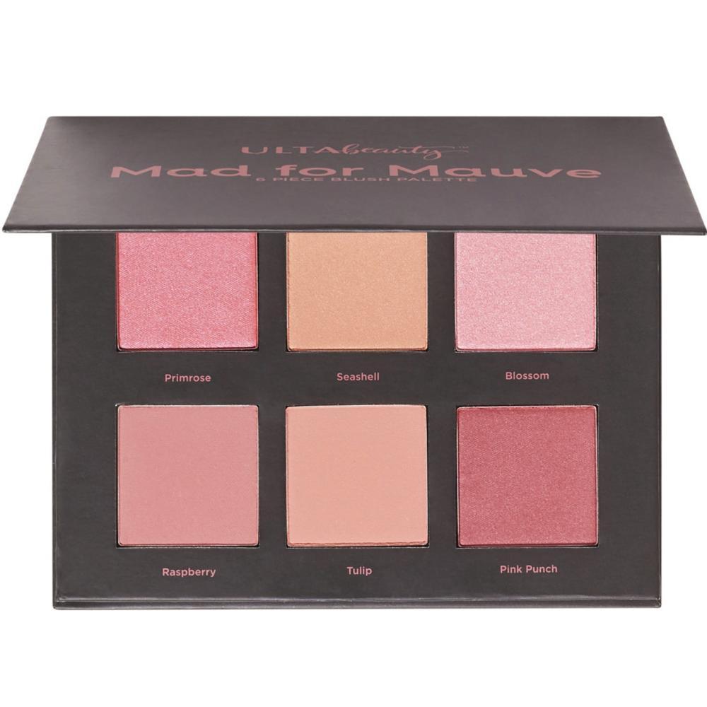 Ulta Beauty Mad For Mauve 6 Piece Blush Palette