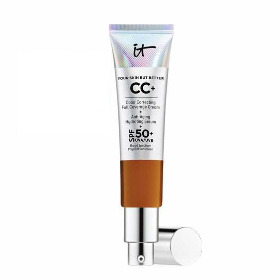 IT Cosmetics CC+ Color Correcting Full Coverage Cream Rich Honey