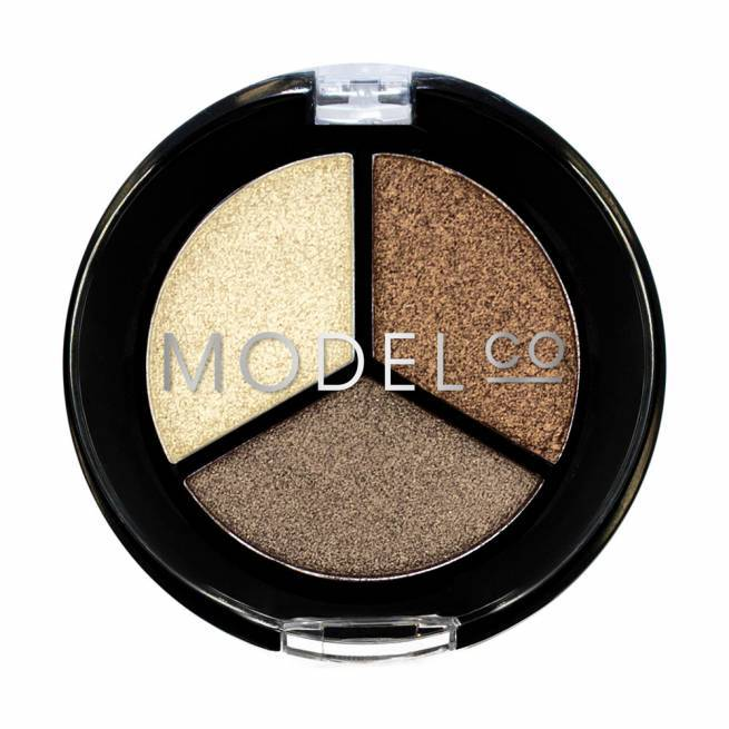 MODEL CO. Metallic Eyeshadow Trio St Tropez Mini