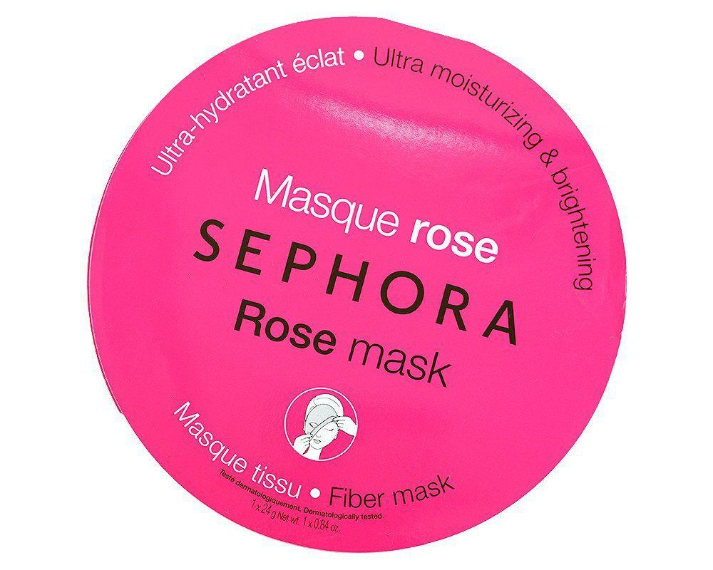 Sephora Ultra Moisturizing & Brightening Rose Mask