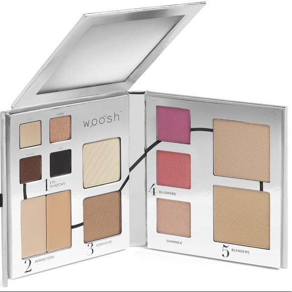 Woosh Beauty The Fold Out Face Palette Medium Light #2