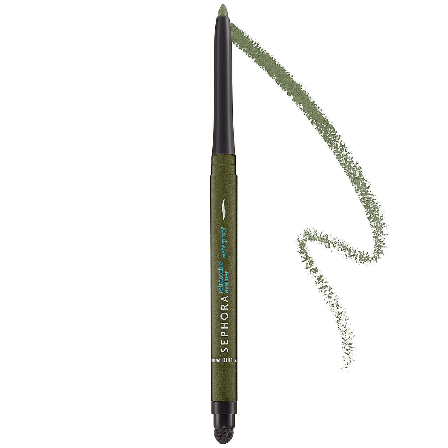 Sephora Retractable Waterproof Eyeliner Olive 06