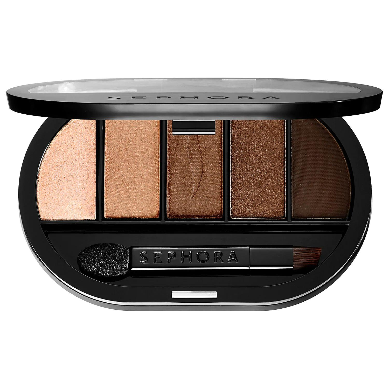 Sephora Colorful 5 Eyeshadow Palette Milk To Dark Chocolate