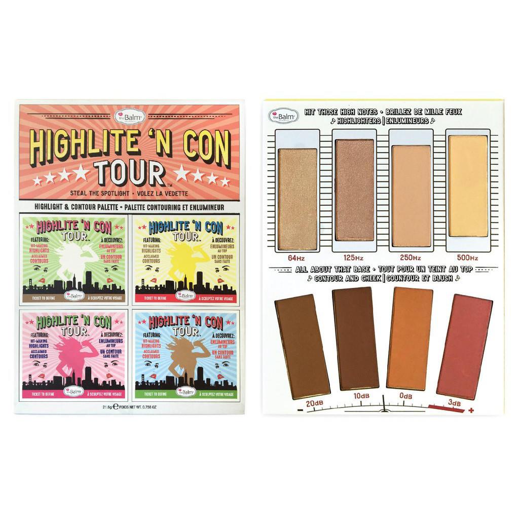 The Balm Highlight & Contour Palette Highlite 'N Con Tour