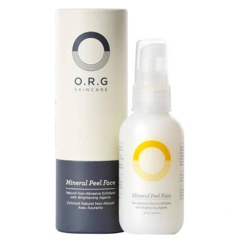 O.R.G Skincare Organic Mineral Peel Face