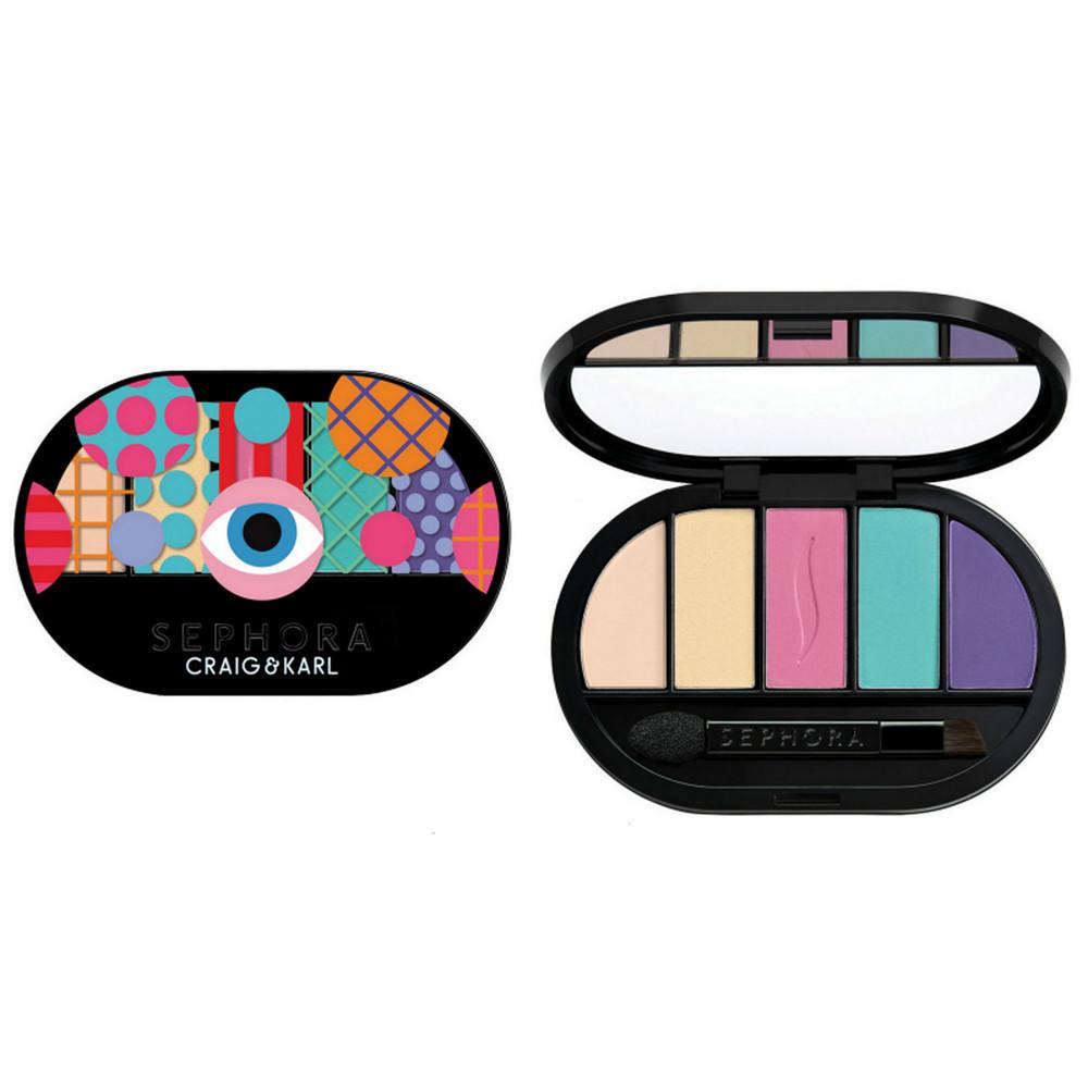 Sephora Colorful 5 Eyeshadow Palette By Craig & Karl